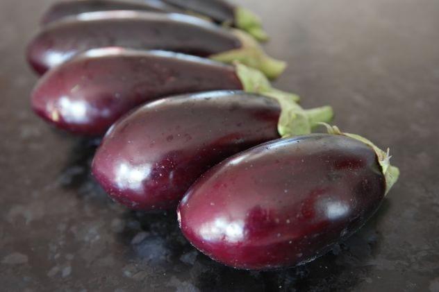 cuire aubergine