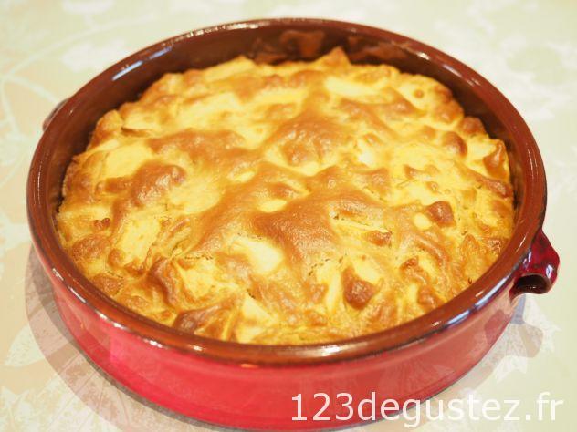 Gâteau aux pommes léger sans balance