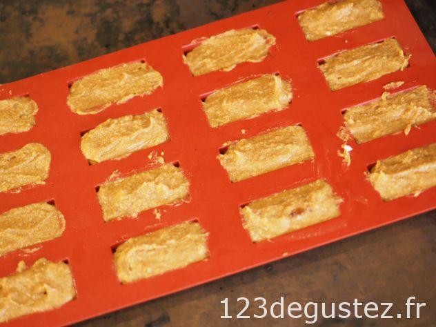 Financier au butternut et praliné sans gluten et sans balance