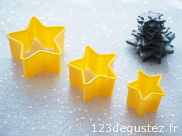 déco Noël facile en pâte à sucre