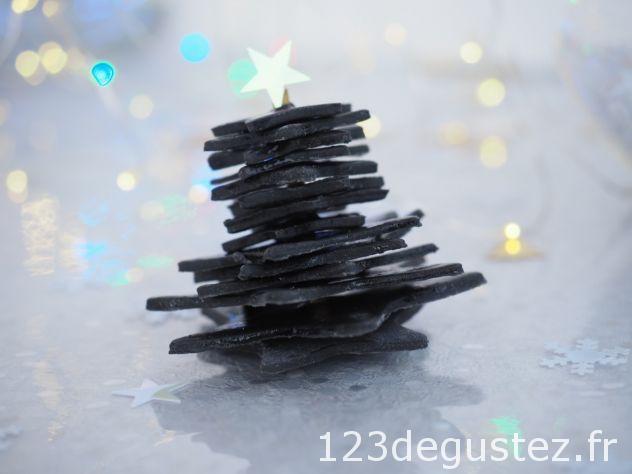 décor Noël facile en pâte à sucre