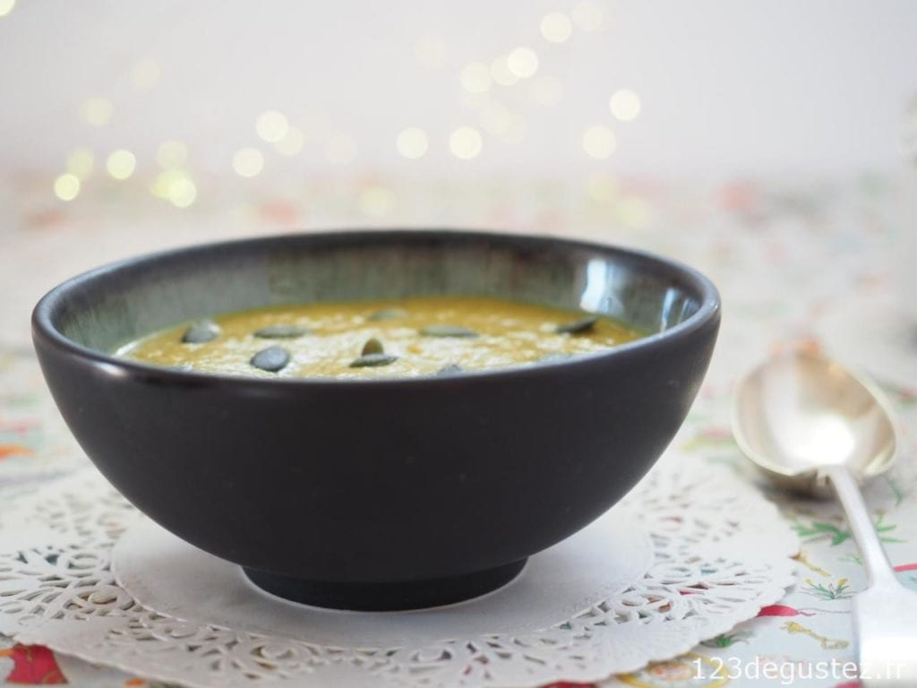 soupe chou-fleur rôti
