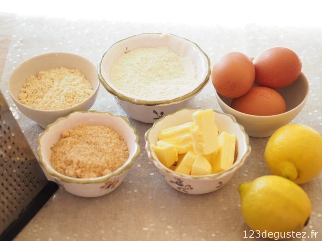 gateau au citron facile et moelleux