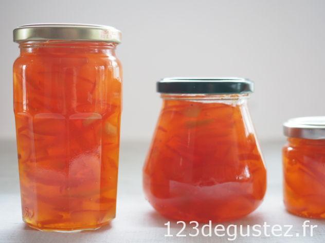 confiture d oranges amères
