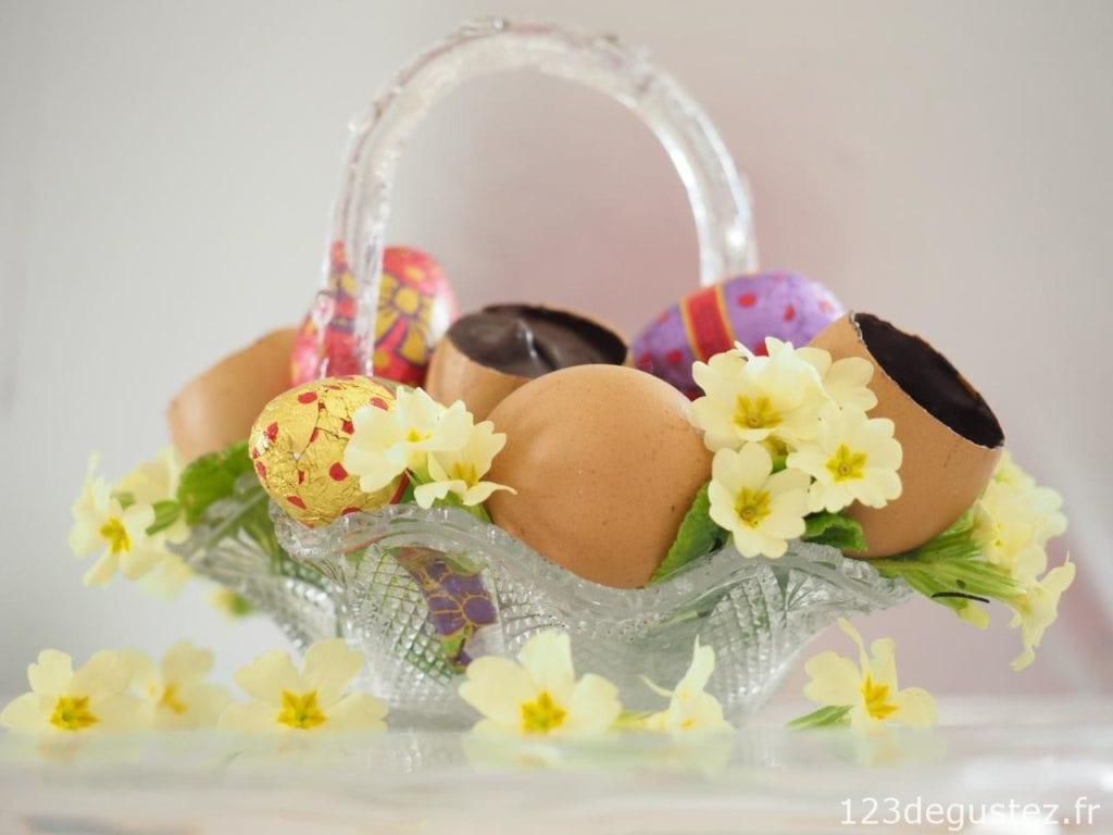 oeuf en chocolat surprise