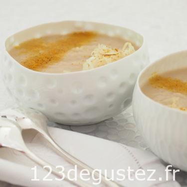 soupe de choucroute aux épices