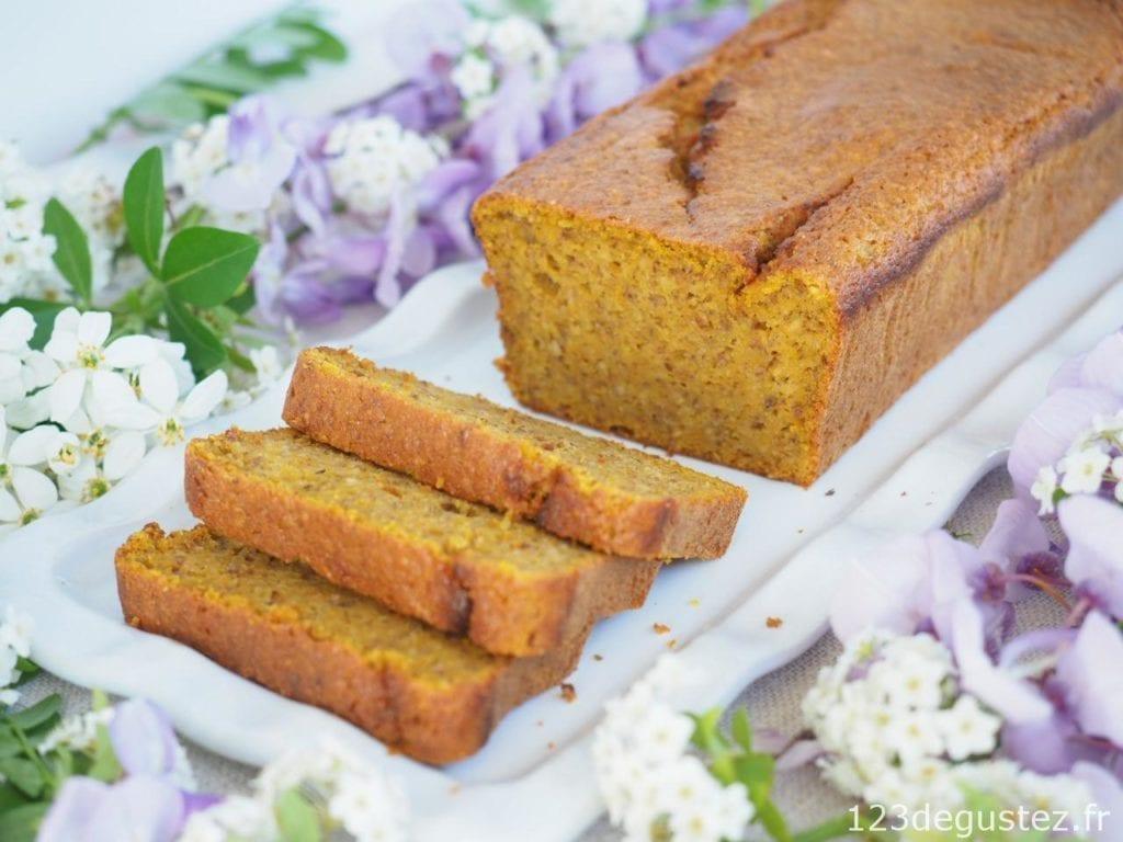 cake sucré moelleux au butternut