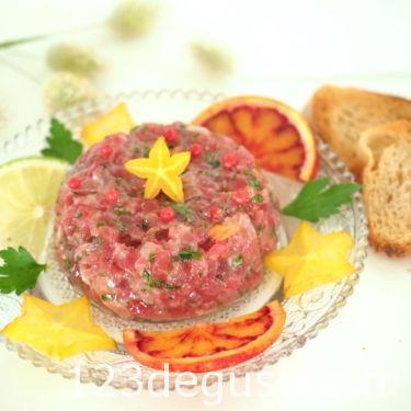 tartare de thon rouge