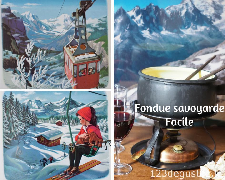 Fondue Savoyarde Facile Et Inratable 123dégustez