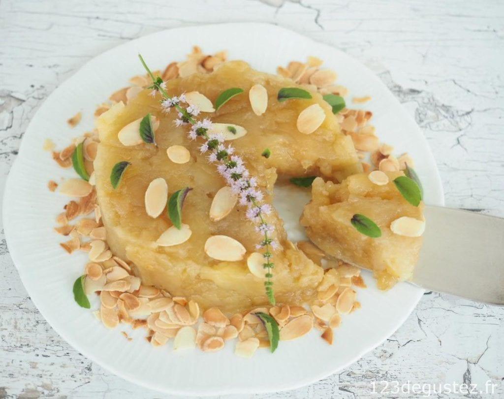 dessert pomme vapeur