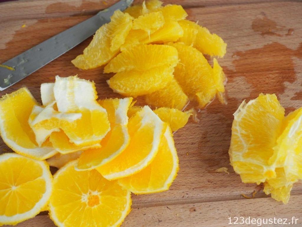 salade de poulpe à l'orange