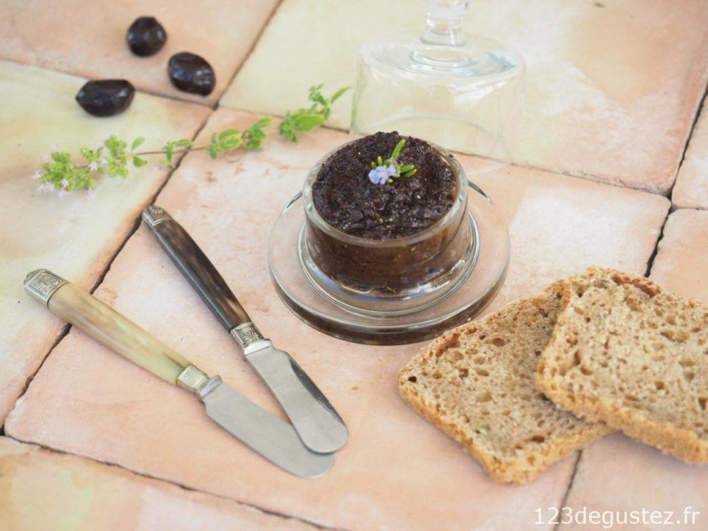 tapenade maison aux olives noires