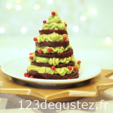 sapin de Noël comestible