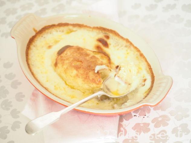 quenelle au four à la béchamel