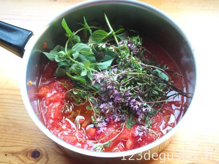 conchiglioni farcis aux aubergines