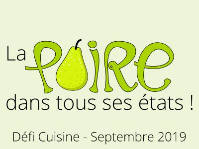 défi cuisine de septembre