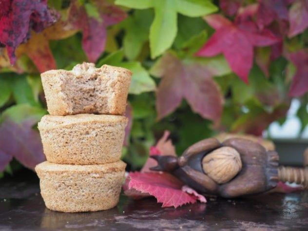 gateau aux noix moelleux au café