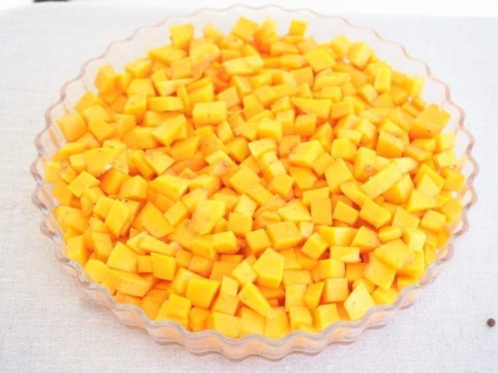 butternut en crumble salé