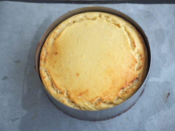 gâteau au fromage blanc de chèvre
