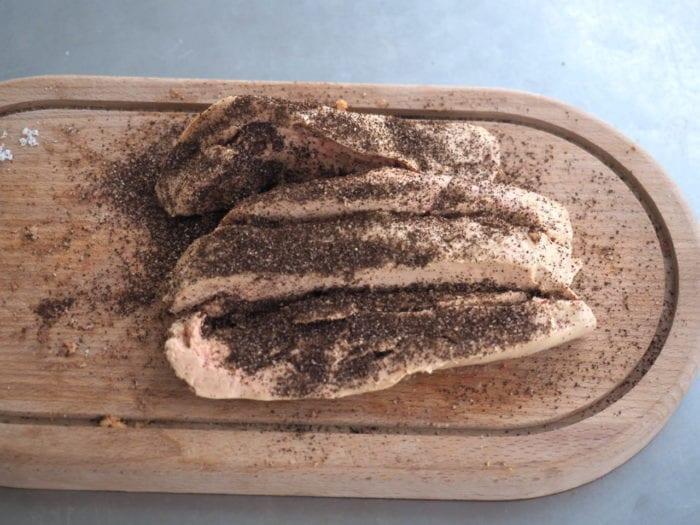 foie gras au café