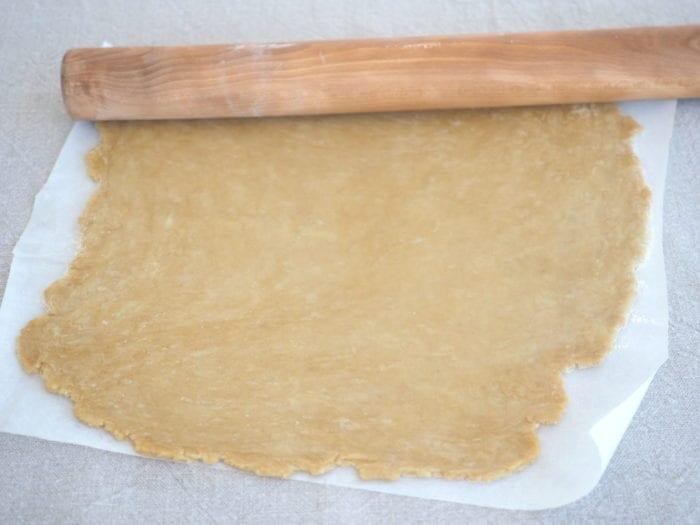tarte à l'huile d'olive