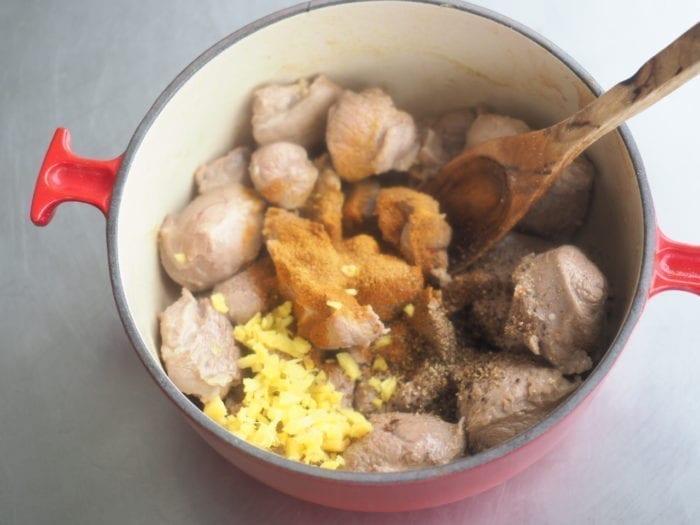tagine agneau pruneaux et épices