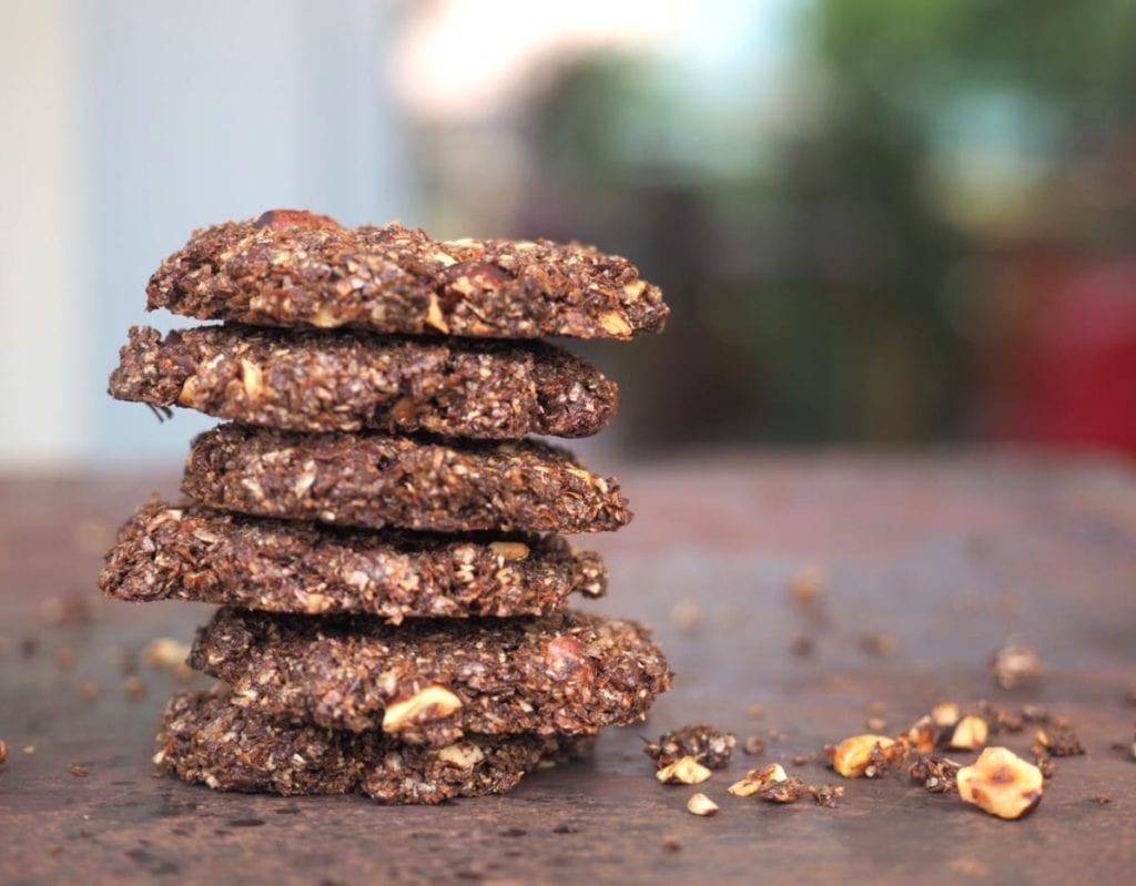 cookies au son de blé et chocolat