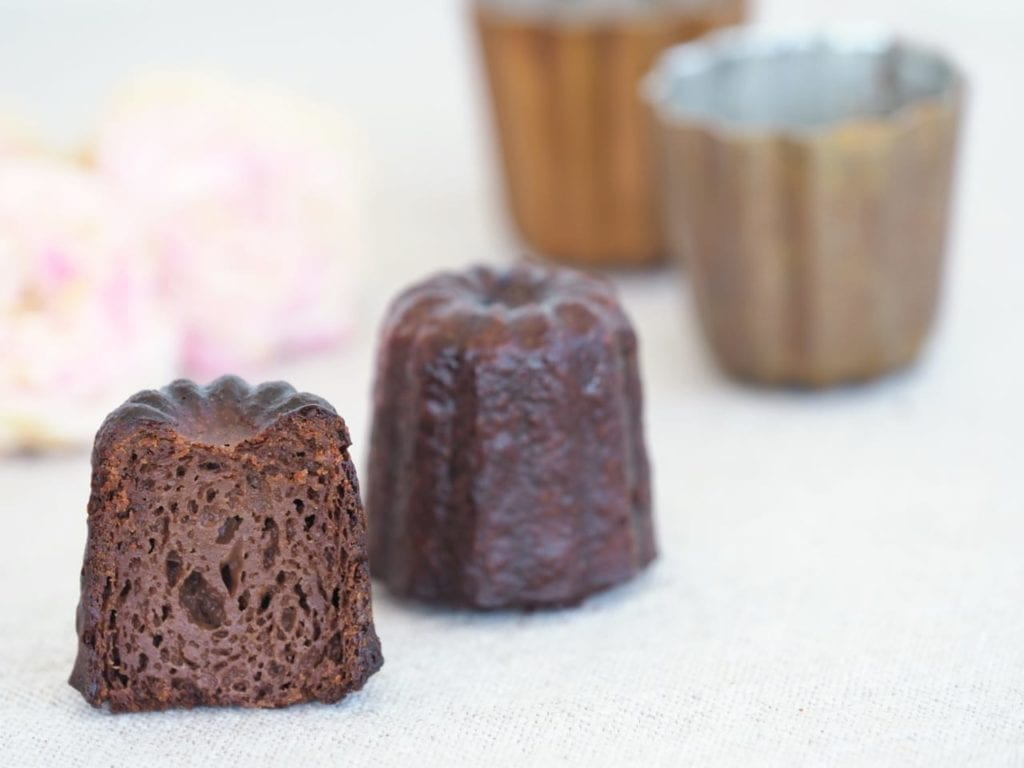 cannelés au chocolat moelleux