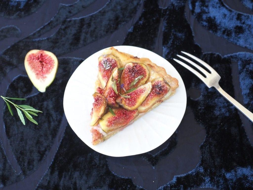 tarte aux figues et ricotta