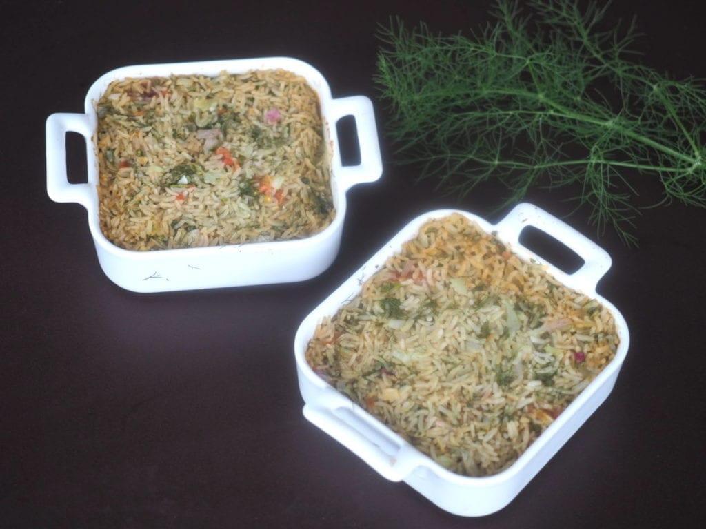 riz au four aux herbes