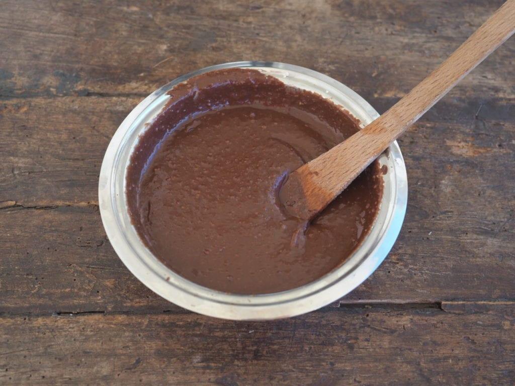 fondant chocolat chataigne à la vapeur