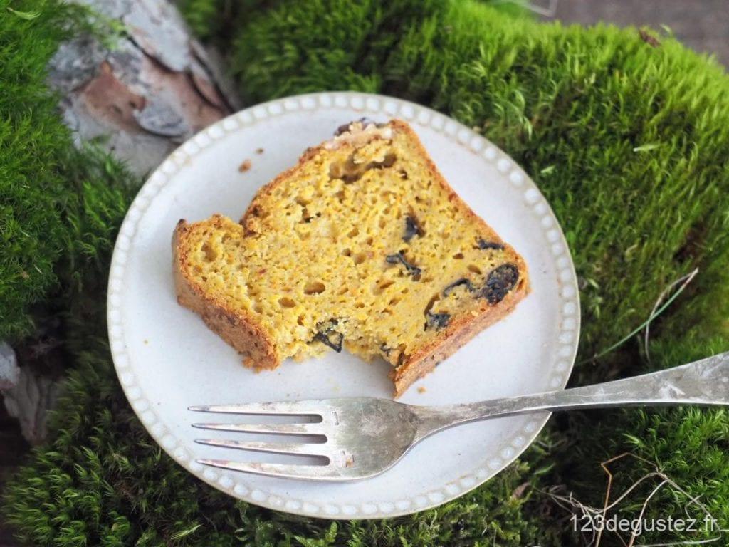 cake butternut et trompettes