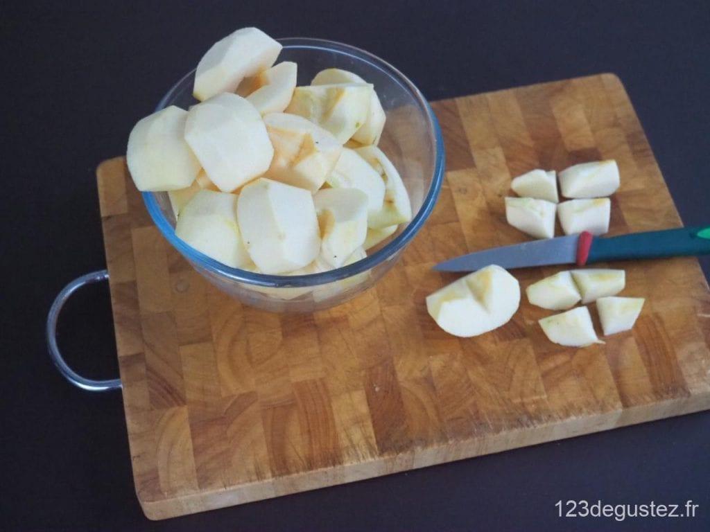 crumble pomme et épices