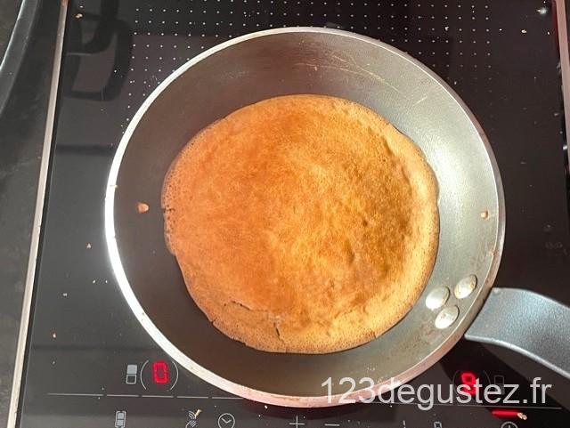 pâte à crêpe légère aux amandes