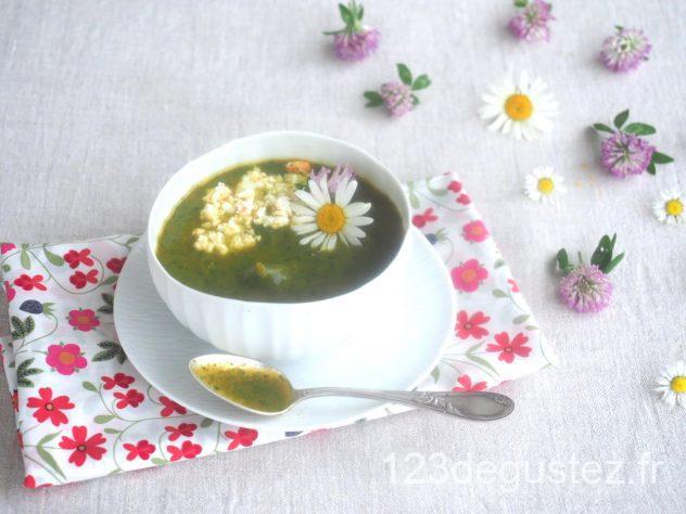 soupe de cresson et patate douce