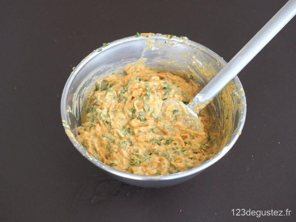 cake carottes et fanes