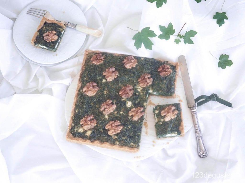 tarte aux orties