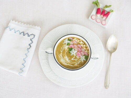soupe de fanes de radis