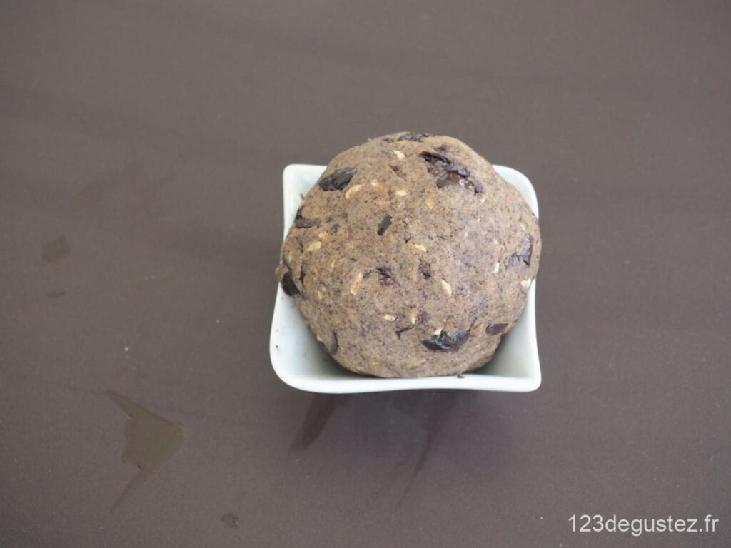 crackers au sarrasin et olives