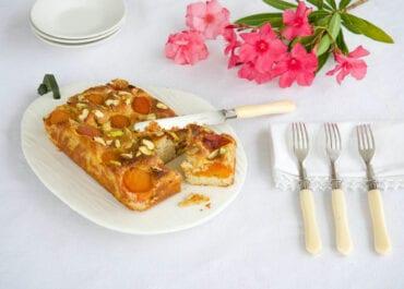 Gâteau aux abricots moelleux et sans gluten